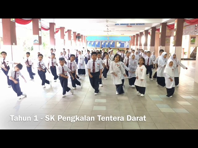 Cheek-e's Buddies Dance - SK Pengkalan Tentera Darat, Kem Sungai Besi Kuala Lumpur @cheeke_my #cheek