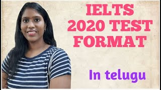 Understanding IELTS test format in telugu / Free IELTS course