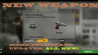 Heroes & Generals NEW PISTOLS ! lot`s of UPDATES!
