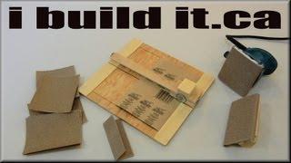 Make A Neat Sandpaper Cutter