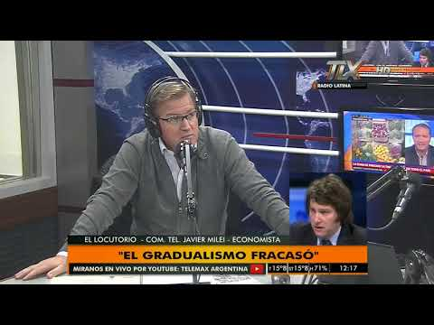 """Javier Milei (Economista) en """"El Locutorio"""" con Eduardo Serenellini"""