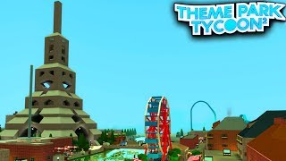 PARIS in Theme Park Tycoon 2!! - Roblox