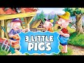 The Three Little Pigs | The best fairy tales for kids | Fascinating cartoons