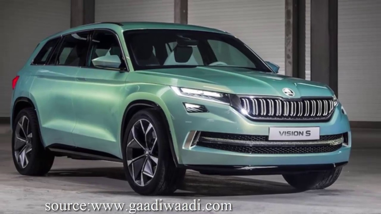 Skoda Vision S Fully Electric Suv Check Out Full Specification