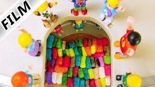 Playmobil Film Deutsch DAS SHOPPING-CENTER SPRUNGTURNIER! WIRD JULIAN WIEDER MEISTER? Familie Vogel