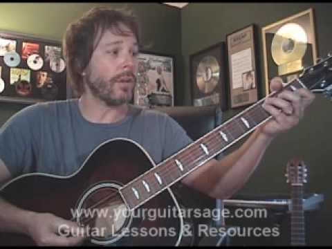 Guitar Lessons - Big Girls Don't Cry by Fergie - cover lesson Beginners Acoustic songs