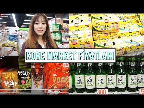 Kore market fiyatları