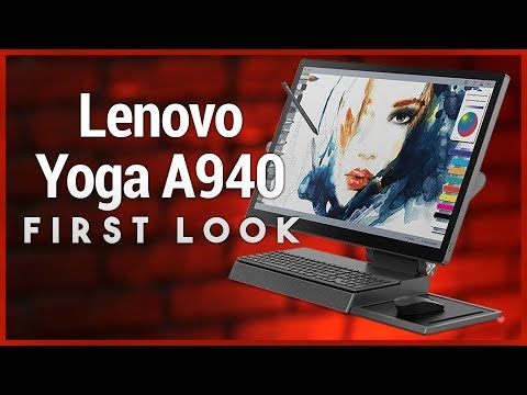 Lenovo Yoga A940 Unboxing & First Look - All-in-One Surface Studio Alternative