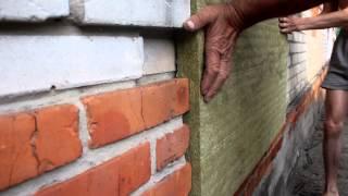 Как утеплить фасад дома, утепляем дом каменной ватой и пенопластом
