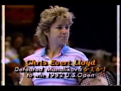 1986 Virginia Slims Championships Semifinals: Chris Evert Lloyd vs. Hana Mandlikova