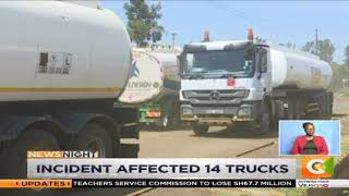 KPC admits pumping water into oil trucks