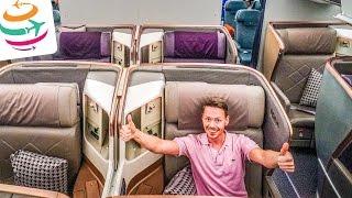 Singapore Airlines Business Class (ENG) Boeing 777-300ER   GlobalTraveler.TV
