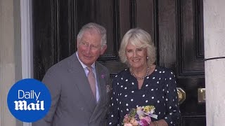 Prince Charles and the Duchess of Cornwall visit Salisbury - Daily Mail