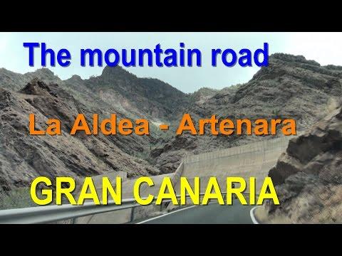 Gran Canaria - The mountain road (La Aldea - Artenara)