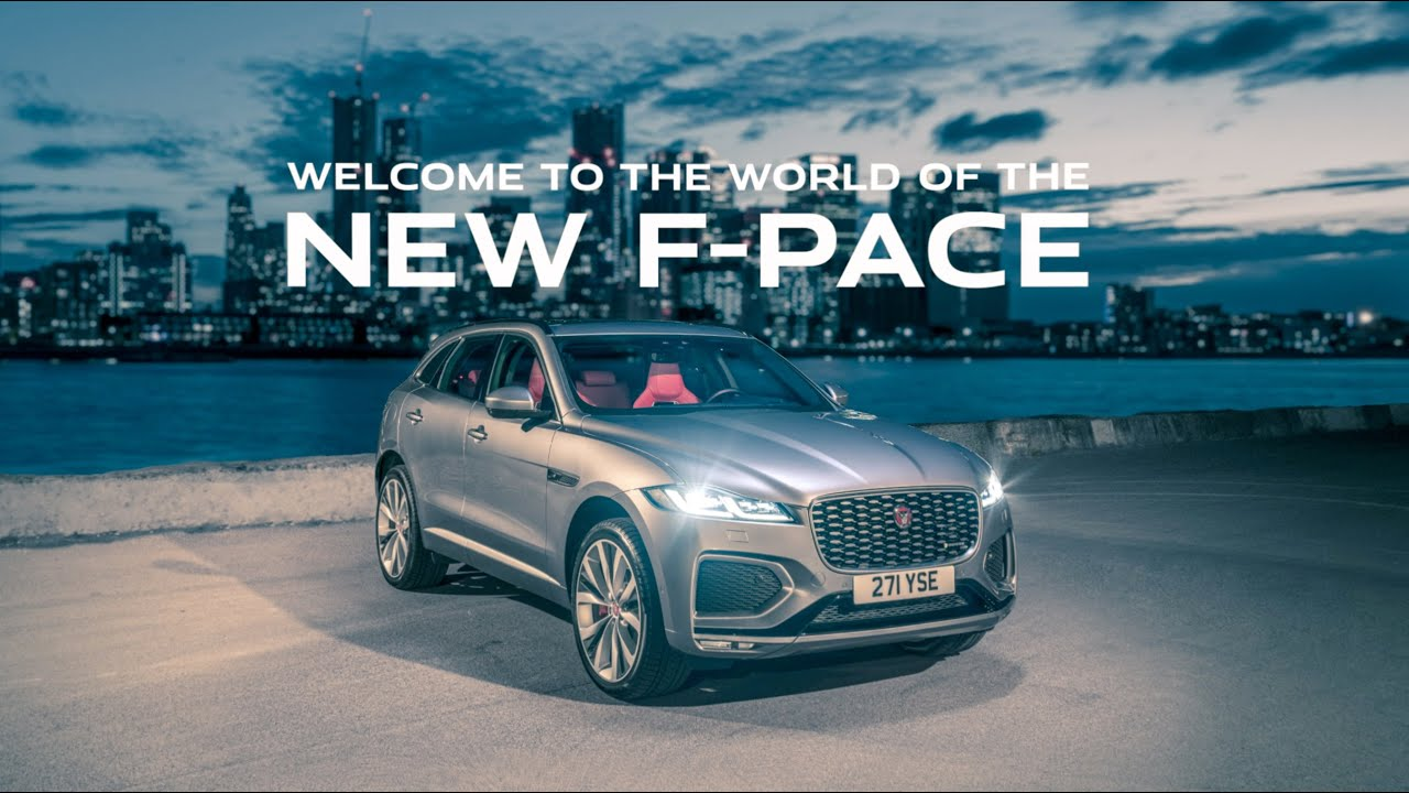 Introducing the New Jaguar F-PACE