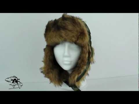 Skee Tex Fur Hat Camo Bristol Angling Centre
