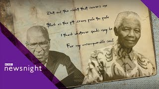 Nelson Mandela's favourite poem - BBC Newsnight