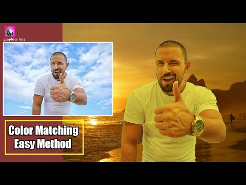 Color Matching Effect In Photoshop - Easy And Fast Photoshop Tutorial thumbnail