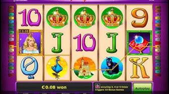 Magic Princess Video Slot - Online Novomatic Casino games at CherryGames.co.uk