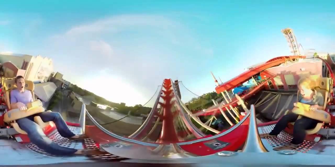 Видео американские горки для очков виртуальной реальности power cable mavik самостоятельно
