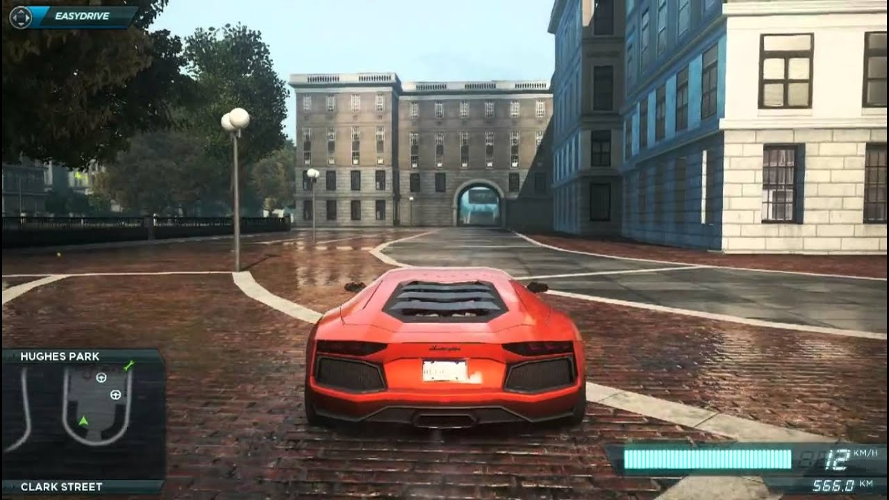 nfs most wanted 2012 flying lamborghini aventador stunts hd youtube. Black Bedroom Furniture Sets. Home Design Ideas