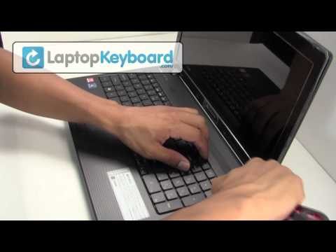 Gateway NV59c NV55C NV79C Laptop Keyboard Installation Replacement Guide - Remove Replace Install