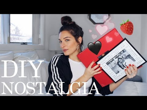 What to Get Your Boyfriend for Valentines Day | DIY gifts nostalgia