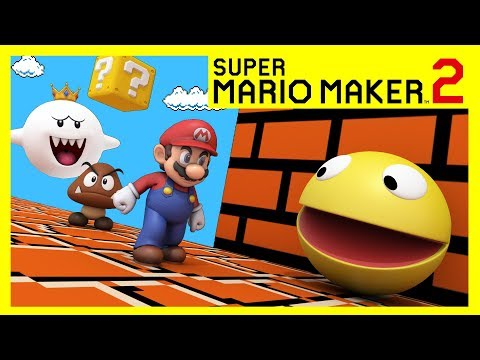 Pacman In Mario Maker World