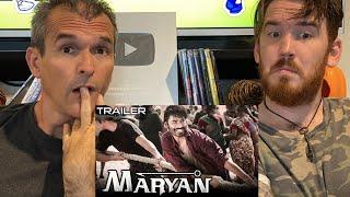 Maryan Trailer REACTION!! | Dhanush, Parvathy