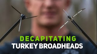 Proper Tuning Steps for GIANT DECAPITATING TURKEY BROADHEADS| Bowmar Bowhunting |