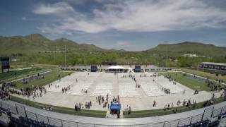 2016 Colorado School of Mines Commencement Timelapse
