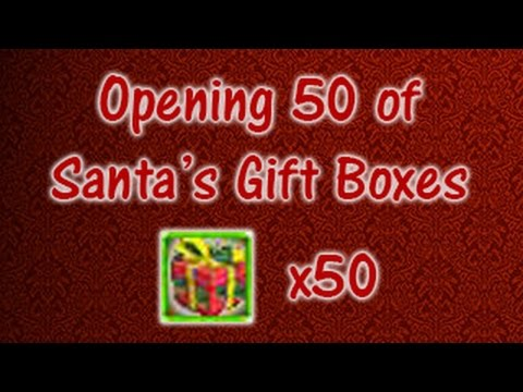 50 of santas gift boxes digimon masters online opening 50 of santas gift boxes digimon masters online negle Images