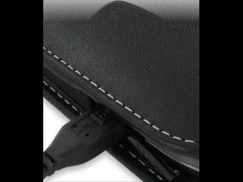 PDair Leather Case for Samsung Omnia Pro B7330 - Vertical Pouch Type Belt clip inluded (Black)