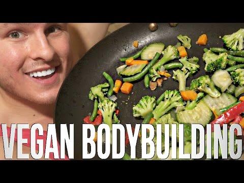 My Diet As A Vegan Bodybuilder (4000+ Calorie Goal)