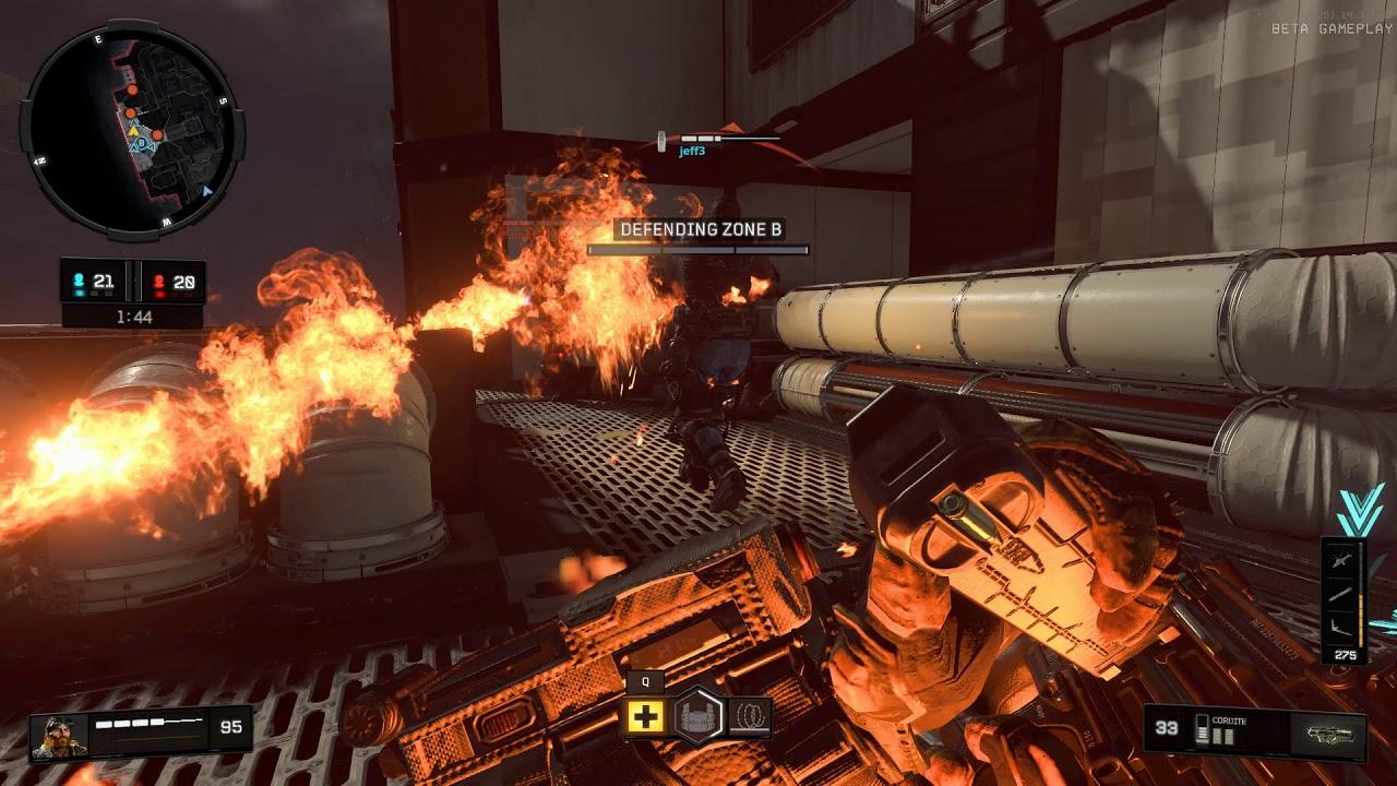 Call Of Duty: Black Ops IIII Beta Gameplay