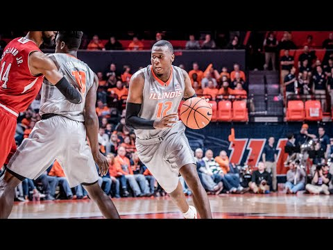 Illinois Men's Basketball Highlights vs Nebraska 2/18/18