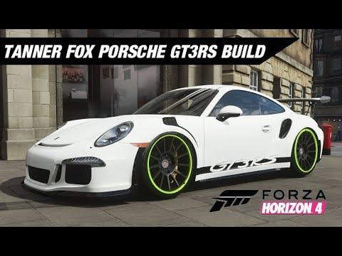 Tanner Fox Porsche GT3RS Build - Forza Horizon 4