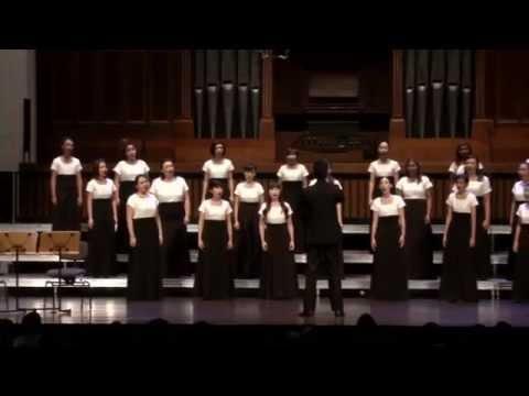 UNITED 2015: The Snow (Edward Elgar) VOCO Singapore Ladies Choir