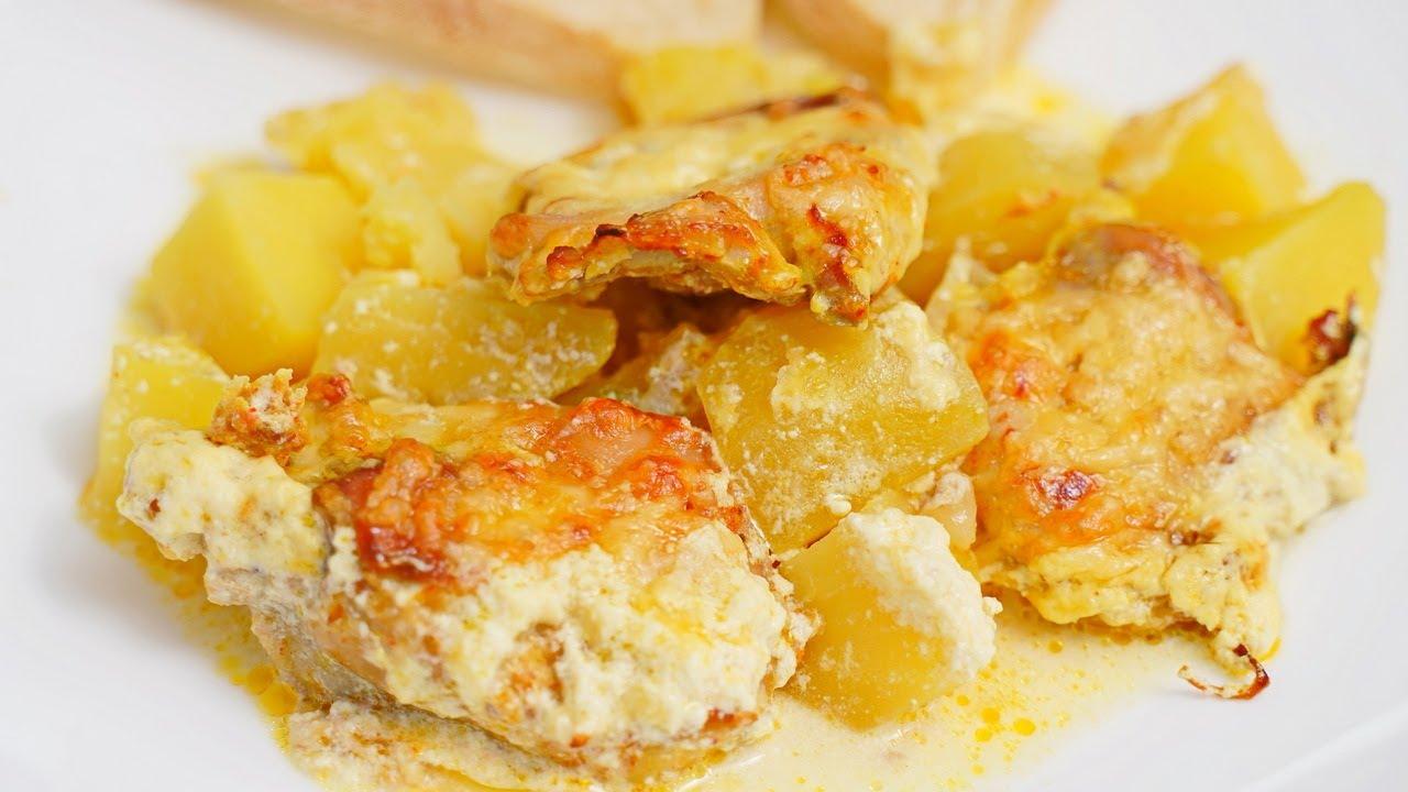 Теперь курицу с картошкой буду готовить только так! Все смешать и в духовку! Картошка с курицей