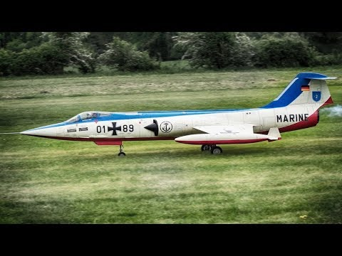 LOCKHEED F-104 STARFIGHTER MARINE RC TURBINE JET SCALE / PROWING 2018