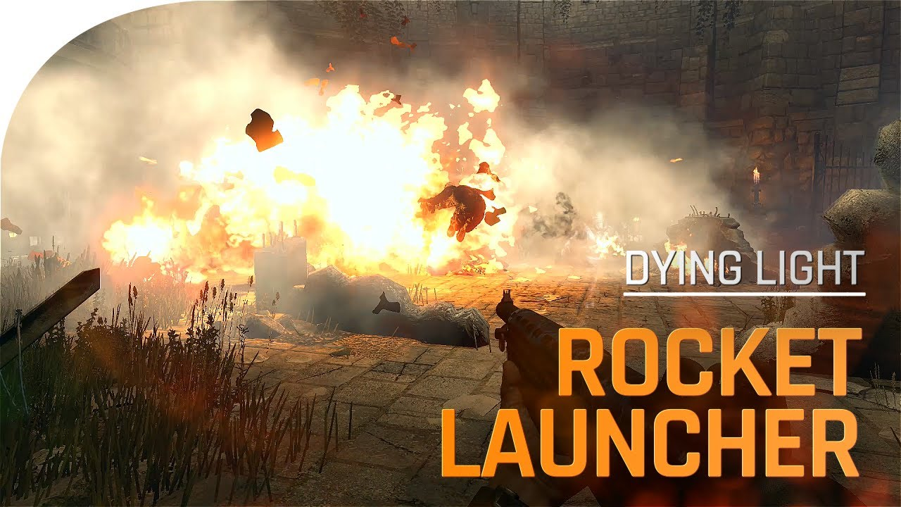 Rocket Launcher Comes To Dying Light! (Teaser)