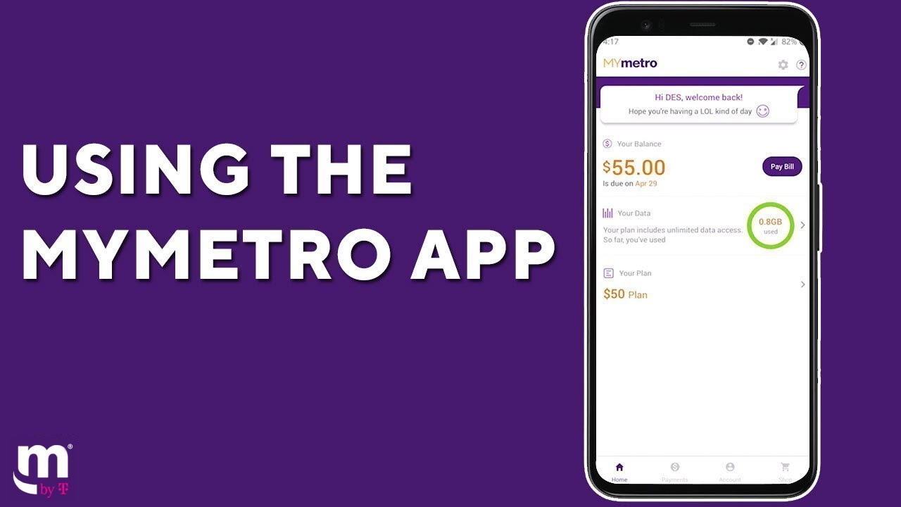 Self Serve Pay Bill Online Activate Your Account More Metro By T Mobile