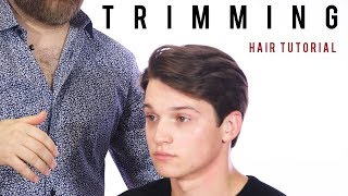 Just a Trim Haircut Tutorial - How to Ask for a Trim - TheSalonGuy