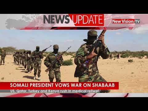 Somalia president vows war on Alshabaab