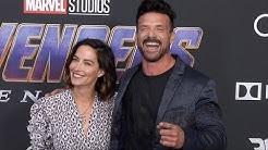 "Frank Grillo and Wendy Moniz ""Avengers: Endgame"" World Premiere Purple Carpet"