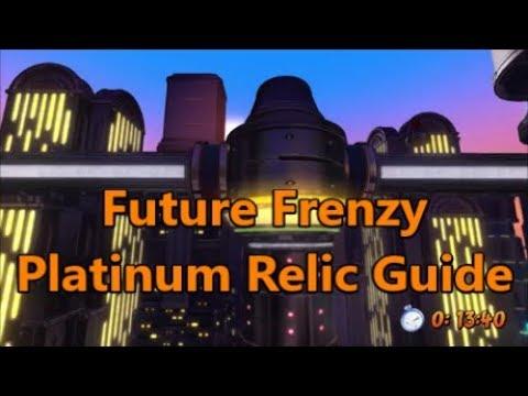 Future Frenzy PLATINUM RELIC GUIDE (Crash Bandicoot N. Sane Trilogy)