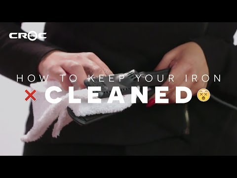 🙅 How to Clean Your Flat Iron the RIGHT WAY ❌  CROC QUICK TIPS ft. Rosie