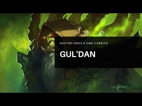 Gul'dan Gameplay - Quatro Orcs E Uma Cabrita - Heroes Of The Storm [PT-BR] [RANKED]