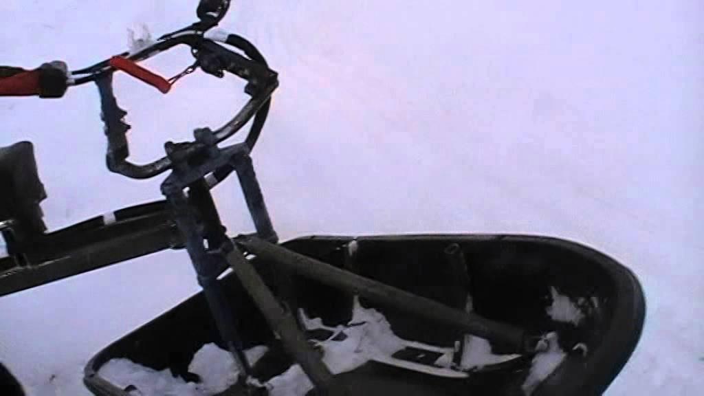 Мотобуксировщик Барс RV 9 DS с лыжним модулем Барс зимний .