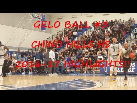 Gelo Ball #3 Chino Hills High School Highlights 2016-2017 Liangelo